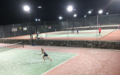 Court Hire for Night Tennis now available